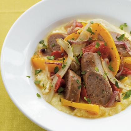 vegetables-roasted-sausage