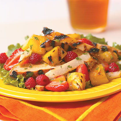 Chicken and Fruit SaladRecipe