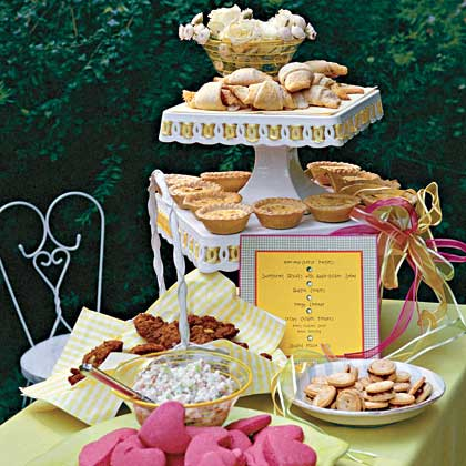 A Kid-Friendly Wedding Reception Menu
