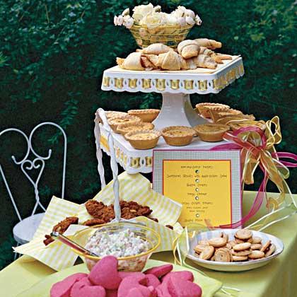 A Kid-Friendly Wedding Reception Menu