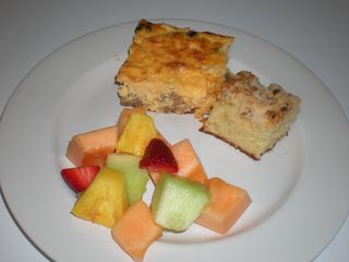 Breakfast for Dinner: Grits Casserole & Coffee Cake