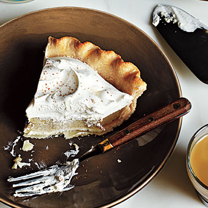 Chai Cream Pie RecipeThe chai spices in this pie are delicious, warm, and inviting with cinnamon, cloves, and cardamom.
