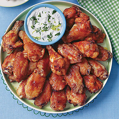Chicken Wings with Blue Cheese Dip
