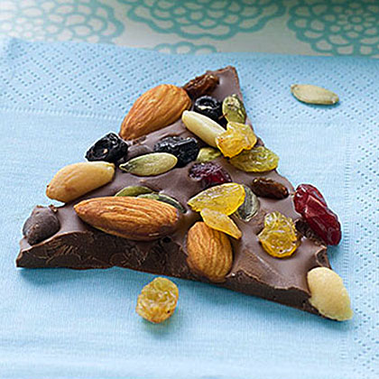 Trail Mix Chocolate Bark