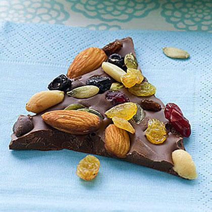 Trail Mix Chocolate BarkRecipe
