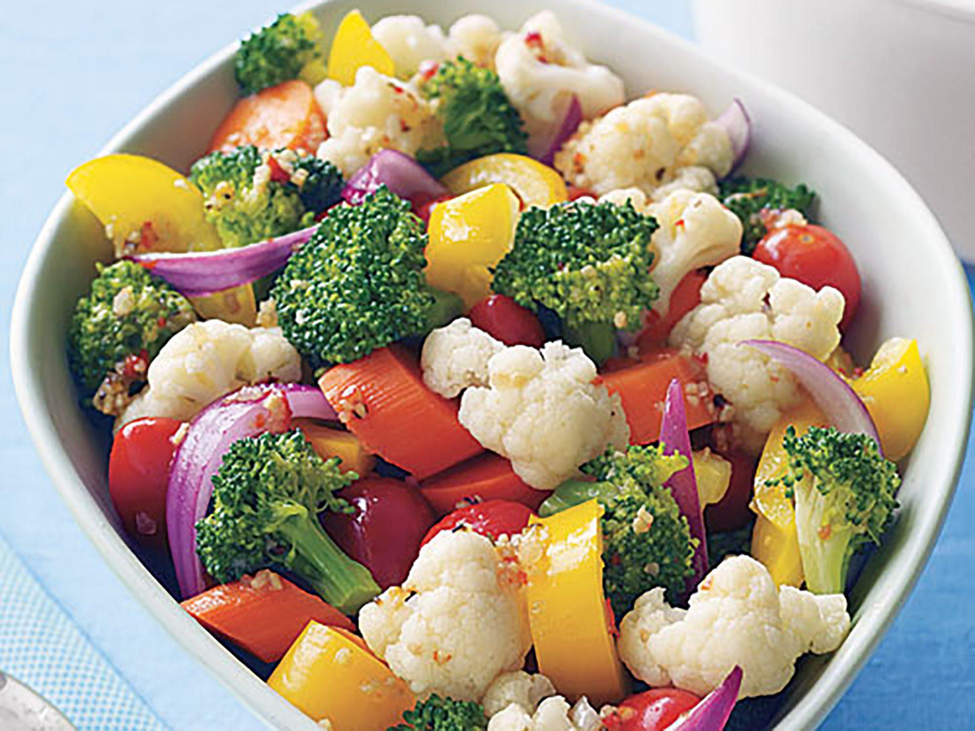 Chunky Vegetable Salad Recipe | MyRecipes
