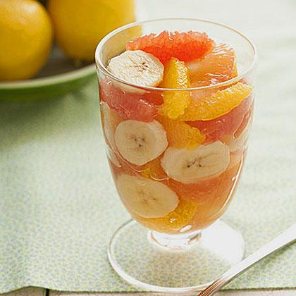 Citrus-Banana Parfait