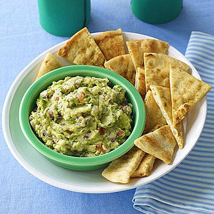 Guacamole with Cumin Chips Recipe