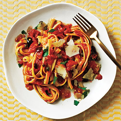 Pasta Puttanesca Recipe Myrecipes