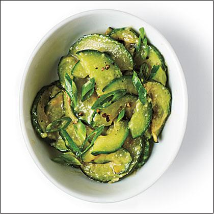 Sauteed Miso Cucumber Salad