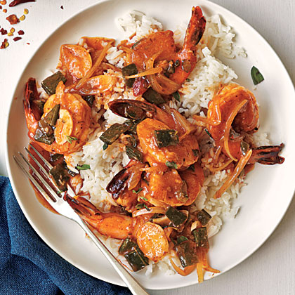 Sauteed Shrimp with Sherry and Chiles