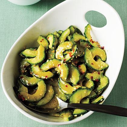 Sesame-Miso Cucumber Salad