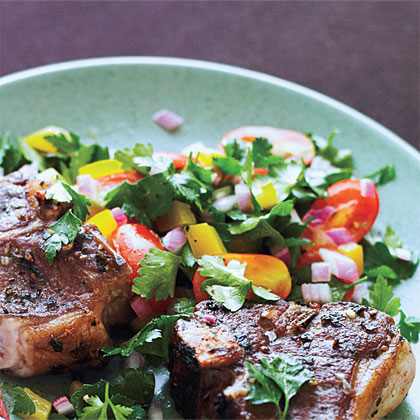 Tomato-Parsley SaladRecipe
