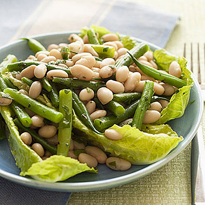 White and Green Bean Salad Recipe