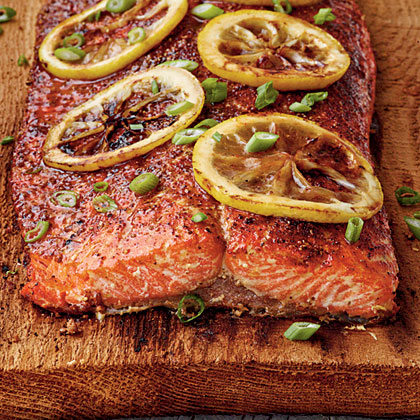 Cedar-Planked Salmon Recipe | MyRecipes.com