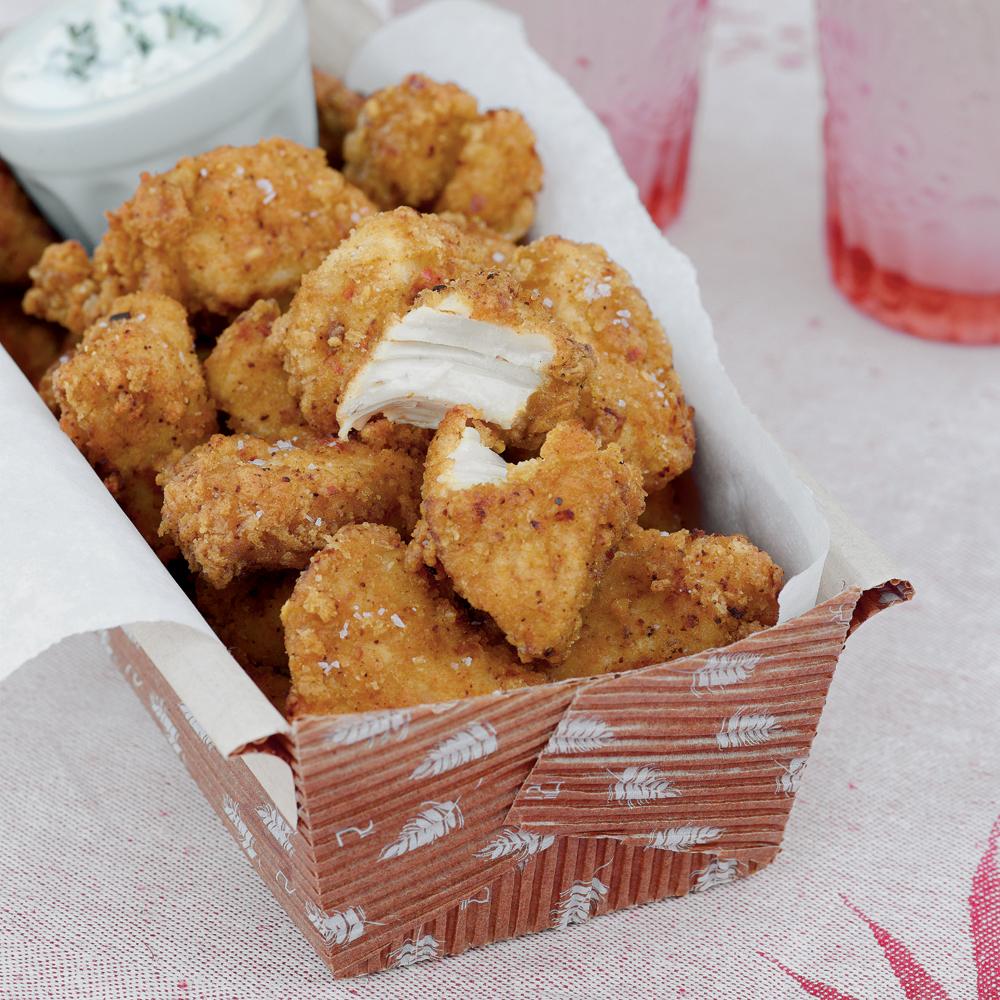 Fried Chicken Bites Recipe