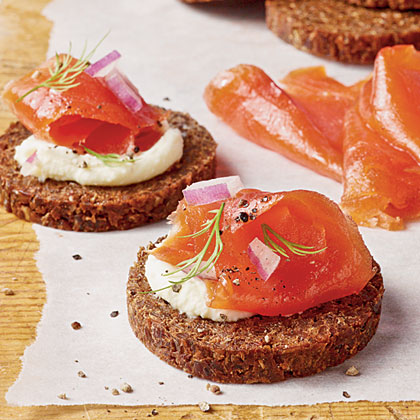 Brown Sugar-and-Dill-Cured Salmon Recipe