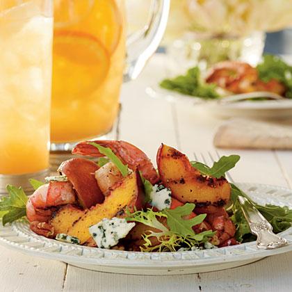Grilled Shrimp Salad with Sweet Tea Vinaigrette