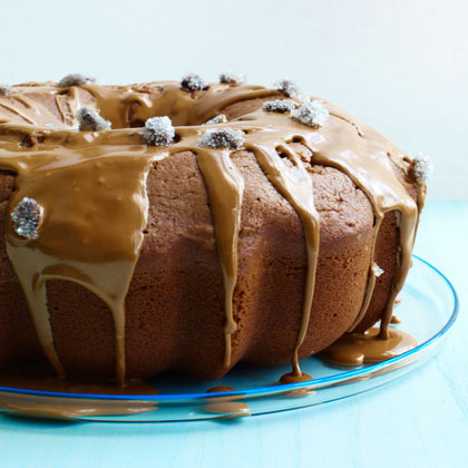 <p>Mocha Coffee Cake with Espresso Glaze</p>