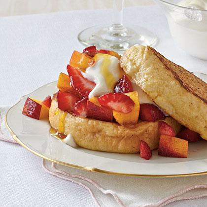English Muffin French Toast Recipe | MyRecipes