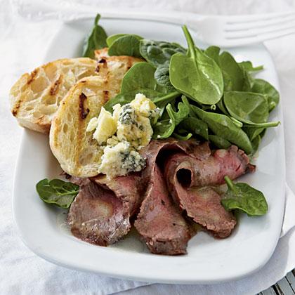 Rosemary-Dijon Grilled Steak Salad