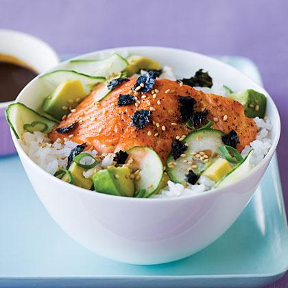 Simple Salmon Chirashi Recipe