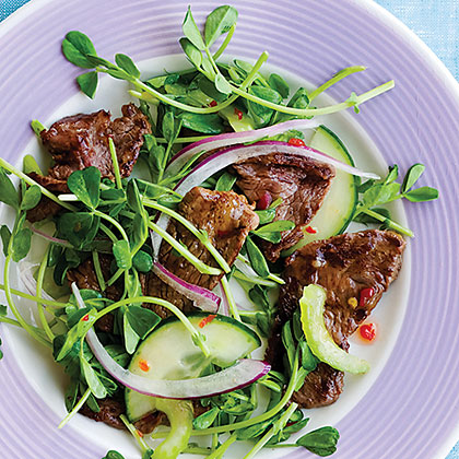 Recipes asian beef salad