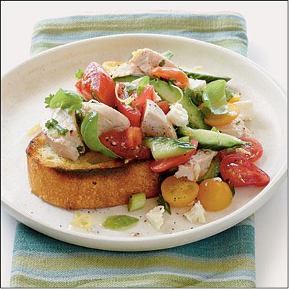 Tomato-Chicken Salad Recipe
