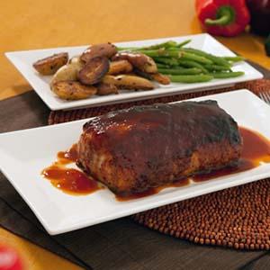 pork loin with coca-cola sauce