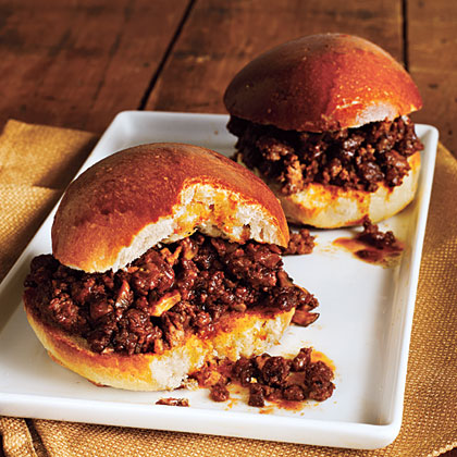 Beef and Mushroom Sloppy Joes