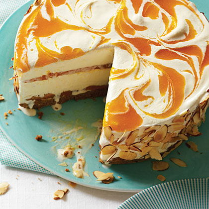 Peach Ice Cream Pie With Amaretti Cookie Crust Recipes — Dishmaps