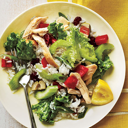 Cold Chicken and Rice Salad