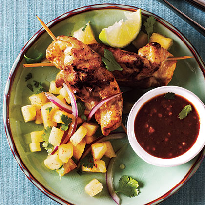 Pineapple Chicken Satay