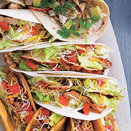 Budget friendly grilling recipes myrecipes santa fe grilled chicken soft tacos forumfinder Image collections