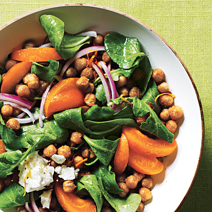 Toasted Chickpea and Apricot SaladRecipe