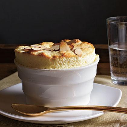 Lemon-Almond Souffles