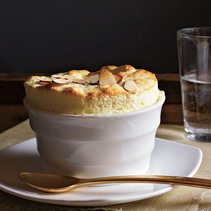 Lemon-Almond Souffles Recipe