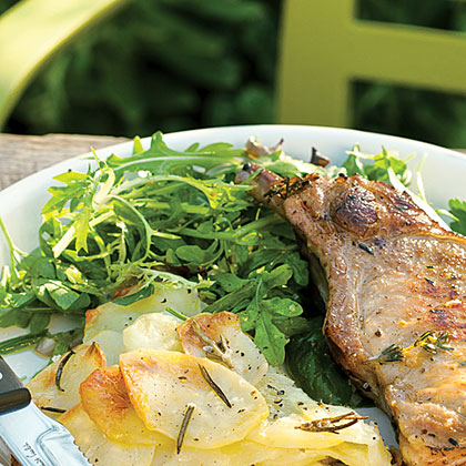 Easy Lettuce and Herb Salad