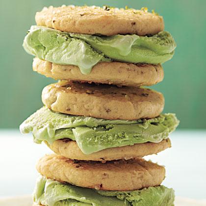 Margarita Ice-Cream Sandwiches