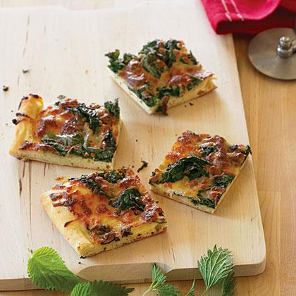 Nettle Pizza Recipe