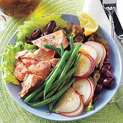 Salmon, Potato and Green Bean Salad