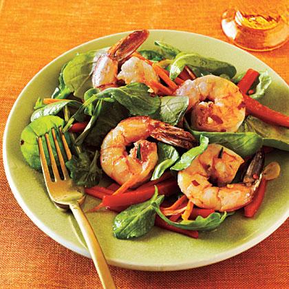 Shrimp and Arugula SaladRecipe