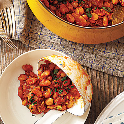 Smoky Baked Beans with ChorizoRecipe