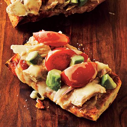 Tuna Melts with Avocado