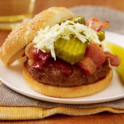 BBQ Bread And Butter Burger
