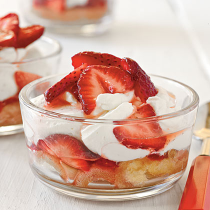 cl-Mini Strawberry Shortcakes
