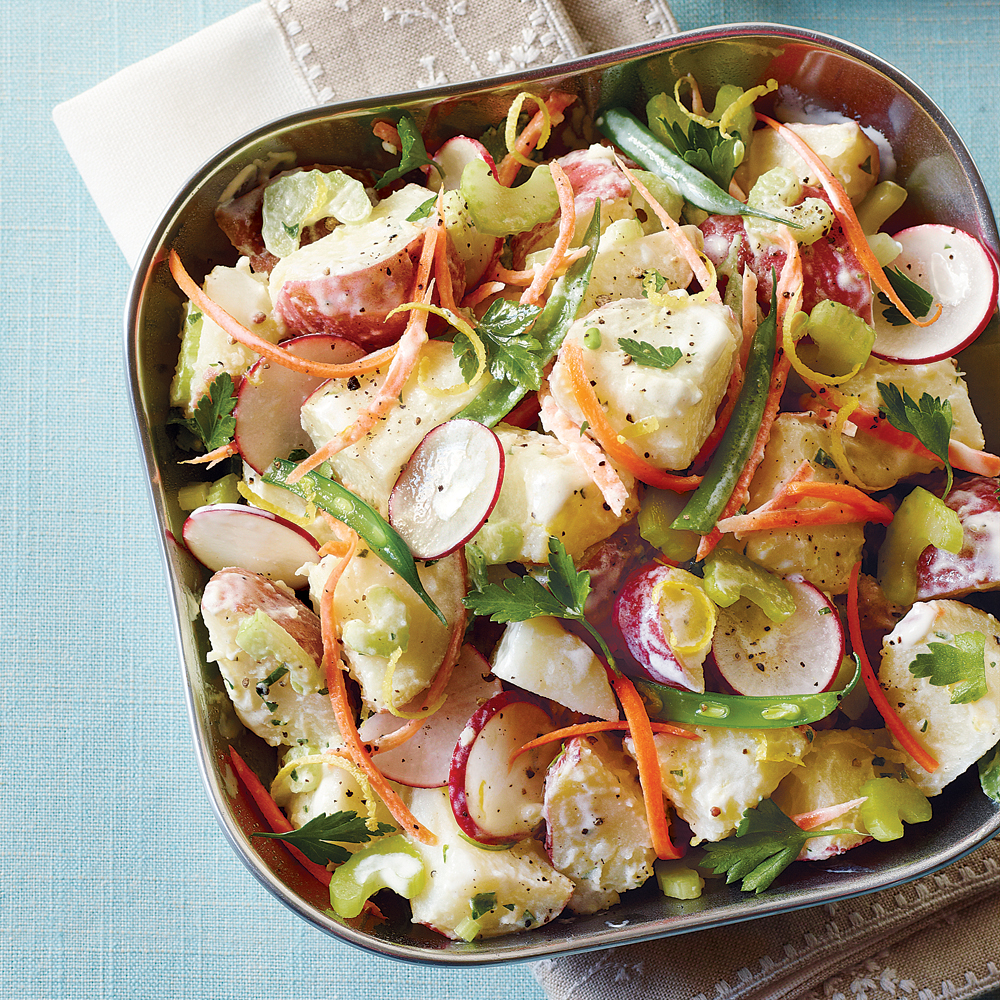 Veggie Potato SaladRecipe