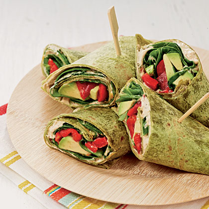 Veggie Ranch Wraps Recipe