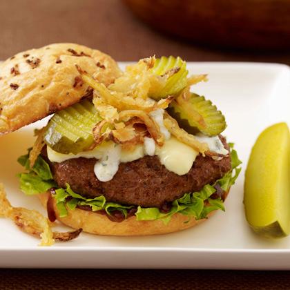 Vlasic® Steakhouse Burger