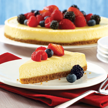 American Classic Cheesecake Recipe Myrecipes Myrecipes